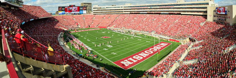 View of Camp Randall Stadium
